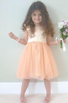 644589efe 9 Best Lace Flower Girl Dresses images