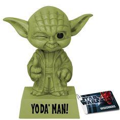 Yoda' Man Bobble-Head $11.99