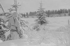 Talvisodan vartiomies Koposenselkä 11.2.1940.