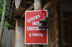 Hiker's Hot Chocolate & Threats - Capilano Suspension Bridge, Vancouver