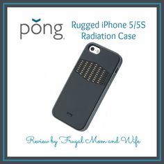 Frugal Mom and Wife: Pong Rugged iPhone 5/5S Radiation Case Review!