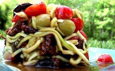 Raw Food Passion: Mediterranean Pasta Salad