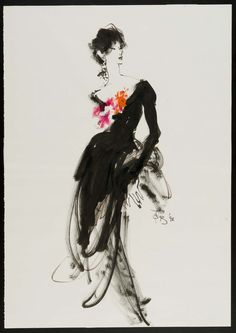Kenneth Paul Block, 1992. Museum of fine arts Boston. http://www.mfa.org/collections/object/female-model-in-black-gown-for-cover-of-novel-by-james-brady-525912