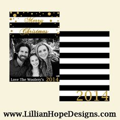 Black and Gold Greet