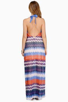 Sale - Dresses, Tobi, Blue Multi Happy Daze Dress