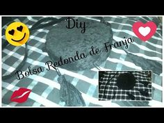 Diy bolsa redonda de franja estilo aliexpress - YouTube
