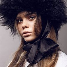 Hat by Giuseppe Tella Styling by Sarah Conen