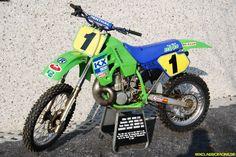 K Nicoll Kawasaki KX 500 1988