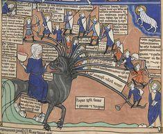Manuscript BNF Latin 8865 Liber floridus Folio 041r Dating 1250-1275 From North, Frankreich Holding Institution Bibliothèque Nationale