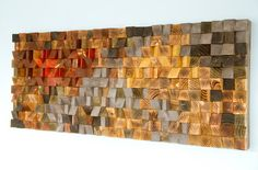 Rustic Wood wall Art wood wall sculpture door ArtGlamourSligo