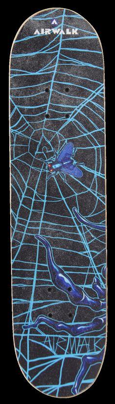 Spider Unreal Skateboard