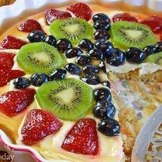 Cream Cheese Fruit Tart recipe