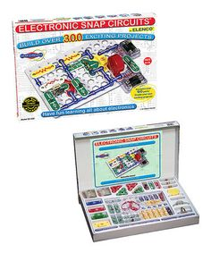 Take a look at this Snap Circuits 300-in-1 Set by Snap Circuits on #zulily today! $43 !!