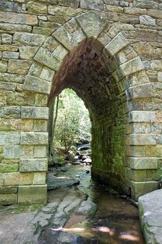 Poinsett Bridge- Travelers Rest, SC - Attraction - in South Carolina