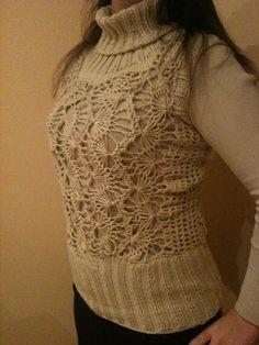 Sweterek na widełkach oraz na drutach http://thebestthing12.blogspot.com/2013/01/dopiero-dzisiaj-udao-mi-sie-w-dziennym.html