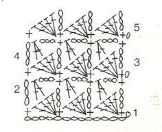 Mis labores en Crochet: Paso a paso del suéter para mascotas. Granny Square Crochet Pattern, Crochet Squares, Crochet Stitches, Afghan Crochet, Granny Squares, Crochet Designs, Crochet Patterns, Stitch Box, Puppy Clothes