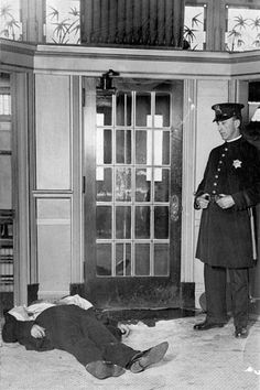 Jim Colosimo met his end in a hail of bullets on May 16, 1920, a kind of scene that became common in gangland Chicago.