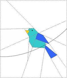 FREE Bird on wire - via @Craftsy