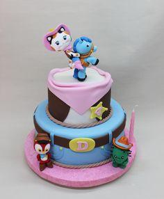 Sheriff Callie Cake by Violeta Glace