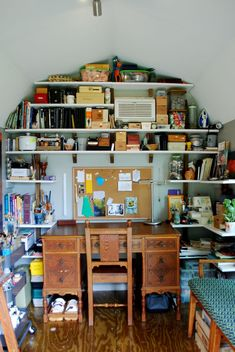 You can personalize your she shed in any way you choose. Look at everything included inside this work space!