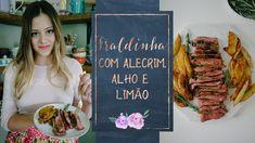 FRALDINHA MARINADA NO ALHO, LIMÃO E ALECRIM