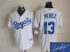 http://www.xjersey.com/royals-13-salvador-perez-white-signature-edition-new-cool-base-jersey.html Only$35.00 ROYALS 13 SALVADOR PEREZ WHITE SIGNATURE EDITION NEW COOL BASE JERSEY #Free #Shipping!