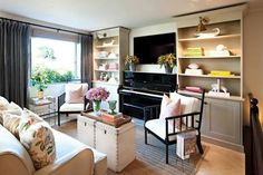 upright piano small living room - Google Search