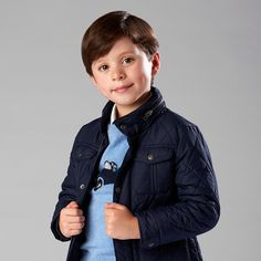 Playground perfect – our unisex Padded Jacket is warm, practical and stylish! In store and online #school #childrenswear #fashion #jacket