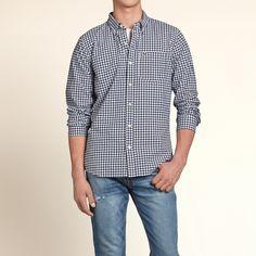gingham check Guys Shirts Tops | HollisterCo.com
