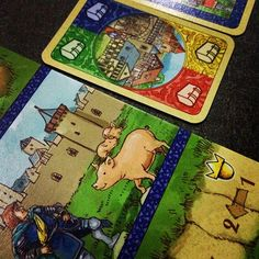 "Cardcassone, the card-based ""sequel"" to award winning Carcassone."