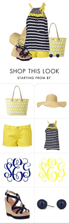 """""""I've Got Sunshine on a Cloudy Day"""" by sophie-01 ❤ liked on Polyvore featuring Kate Spade, Phase Eight, Forever New, Roberto Collina, Harold's and Betty Jackson"""