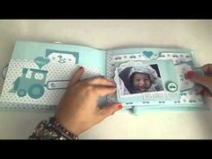 DIY: Mini álbum scrapbook para bebé | Anita y su mundo scrap