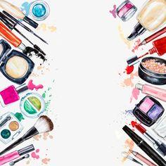 O material de maquiagem ferramentas, Salão De Beleza, Maquiagem, Beleza Imagem PNG