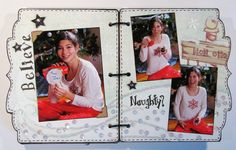 Today, I am sharing my Christmas Mini Album that I made for Magenta in January. While I used the cute bracket December Daily Album. Christmas Mini Albums, Christmas Minis, Magenta, December Daily, Baseball Cards, Cute, Scrap, Kawaii, Scrap Material