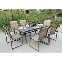Wellington 7 Piece Dining Set By Bellini Home And Garden