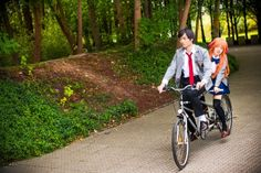 Gekkan Shoujo Nozaki-kun - Hatsukoi no Tandem by TrustOurWorldNow Gekkan Shoujo Nozaki Kun, Manga, Tandem, Bicycle, Animation, Cosplay, Blame, Sleeve, Bike