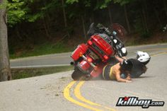 Deals Gap ... ouch! Leave that stupid hog on the parkway!!!