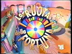 Programmi tv degli anni '90 - Logo de La ruota della fortuna
