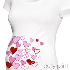 zoey's attic personalized gifts - Valentine's Day maternity shirt - fun scribble hearts custom womens non-maternity or maternity Tshirt, $24.50 (http://www.zoeyspersonalizedgifts.com/products/valentines-day-maternity-shirt-fun-scribble-hearts-custom-womens-non-maternity-or-maternity-tshirt.html)