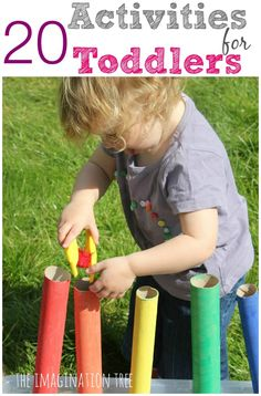 20 fun activities for toddlers!