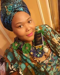 Life is to short to wear boring outfits then worry about what people think of them..... #slay today ----------------------------------#ootd #streetstyle #batik #turban #plussize #melanin #beauty #headwrap #plussizefashion #turquoise #pop #globalmindset #fashion #accessories #green #passport #traveltheworld #picoftheday #instagood