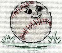Welcome back baseball! Free cross stitch project: http://www.kreinik.com/kshop/product.php?productid=16997=0=1