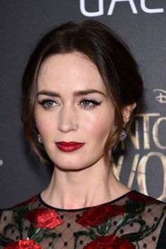 dailyactress: Emily Blunt - 'Into The Woods' World Premiere in NYC 12/08/14