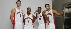 Group shot from Raptors Media Day. Air Canada Centre, Toronto Raptors, Basketball, Play, Group, Watch, Cake, Sports, Hs Sports