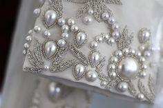 Embroidered with Pearls, Oscar de la Renta, Bridal 2013