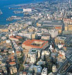 Grand Serail and Beirut Port, Beirut, Lebanon