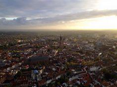 OLV-Toren vanuit Luchtballon Amersfoort