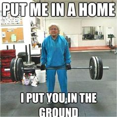 I hope I'm this awesome when I'm her age!