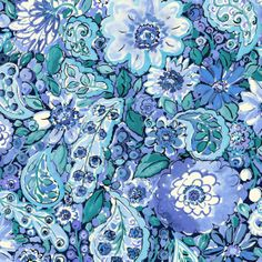 California Dreaming Collection by Dena™ Home for P/K Lifestyles - Sweet Summer in Blueberry