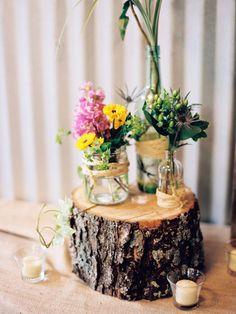 20 DIY Wedding Centerpieces for Your Upcoming Nuptials via Brit + Co.